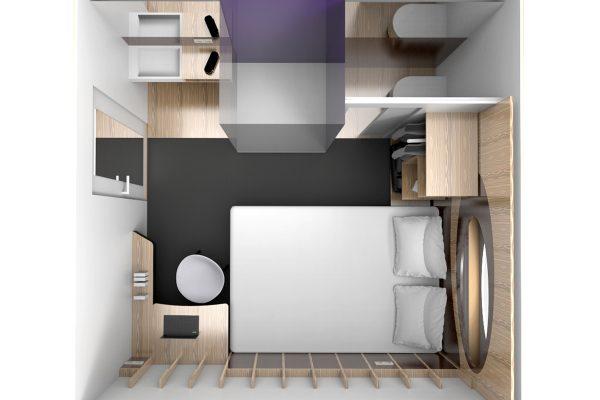 Chambre d hôtel modulaire éco conçue le pôle eco design