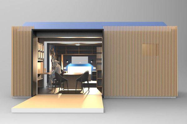un habitat d 39 urgence pour appel d 39 aire le p le eco design. Black Bedroom Furniture Sets. Home Design Ideas