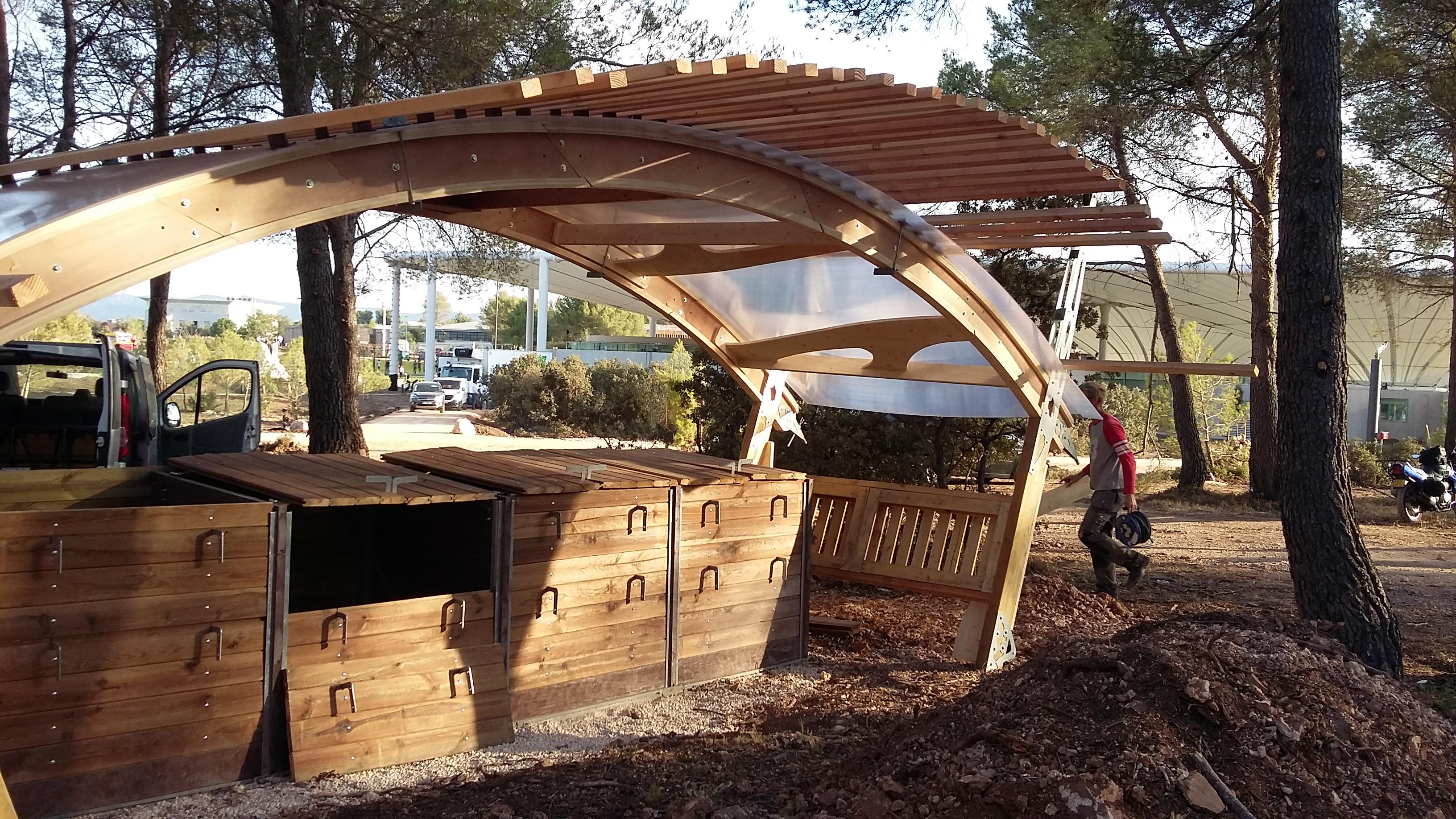 composteur design fabriquer un composteur en palette design de maison fabriquer son kitchen. Black Bedroom Furniture Sets. Home Design Ideas